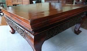 Table Basse Chinoise : table basse chinoise table basse chine table chine ~ Melissatoandfro.com Idées de Décoration
