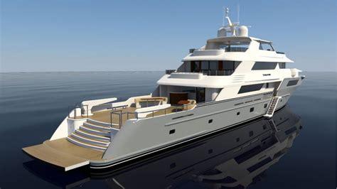 Super yacht Evolution - rear view — Yacht Charter ...