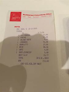 Restaurant Rechnung : restaurant felsenburg aarestrasse olten dinner the real picky gourmet ~ Themetempest.com Abrechnung
