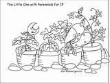 Coloring Perennials Balanzario Ale sketch template