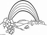 Coloring Pages Deceased Funeral Rainbow sketch template