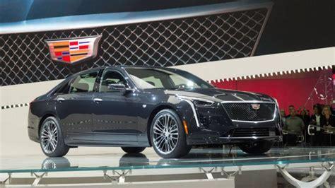 2019 Cadillac Ct6 Vsport Gets New 550hp Biturbo V8