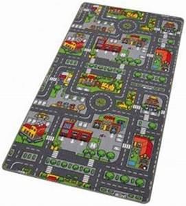 Tapis Enfant Route : tapis de jeu circuit de voiture dans la ville ~ Teatrodelosmanantiales.com Idées de Décoration