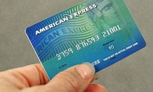 Size Matters American Express Cards Money The Guardian