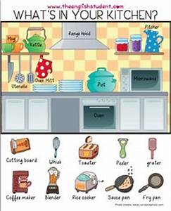 1000 images about esl vocabulary on pinterest english With kitchen furniture words