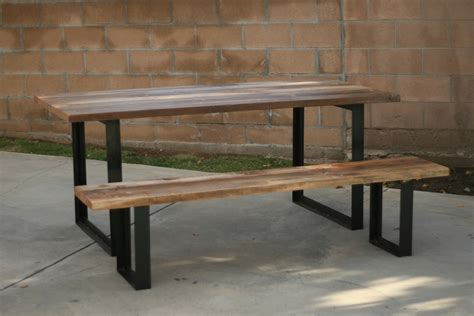 arbor exchange reclaimed wood furniture outdoor table