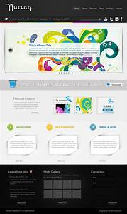 Nuevaq  Complete Site Template Psd
