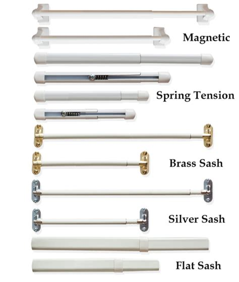 best types of curtain rods homesfeed