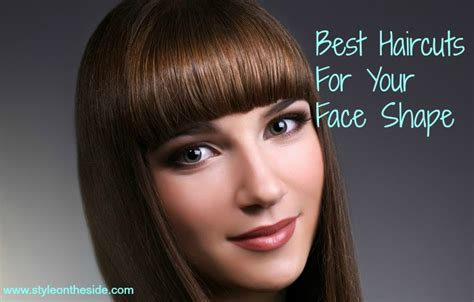 haircuts   face shape style   side