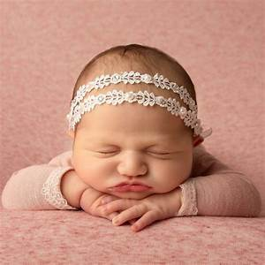 Cute Cute - Baby Girls White Lace Headband | Childrensalon