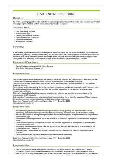civil engineer resume great sle resume