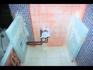 Comment Recouvrir Du Carrelage Mural : poser du carrelage mural sur un carrelage existant youtube ~ Melissatoandfro.com Idées de Décoration