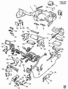 1990 Chevrolet Corvette Wiring Harness  Instrument Panel
