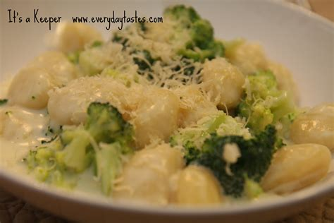gnocchi sauce gnocchi and broccoli in parmesan cream sauce it is a keeper
