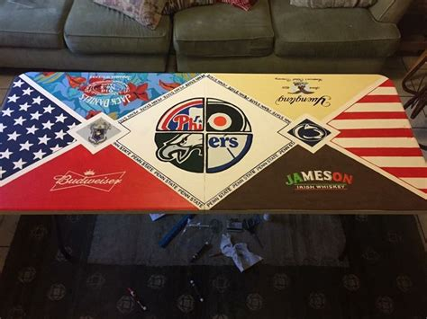 beer pong table beer pong table diy diy beer pong table