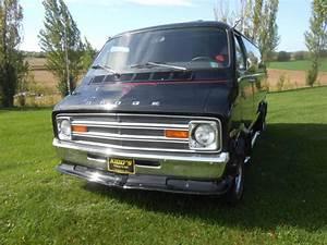 Dodge Ram Van Van Camper 1975 Black For Sale
