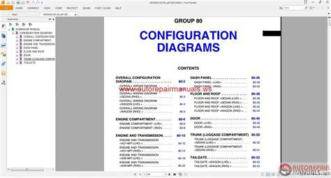 mitsubishi lancer evolution engine diagrams mitsubishi