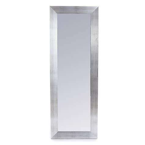 alinea chambre enfants miroir rectangulaire effet acier brossé 40x140cm oakland