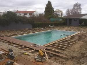 pose terrasse bois autour piscine newsindoco With pose terrasse bois autour piscine