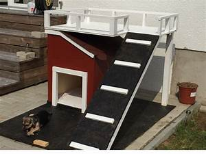 Hundehütte Mit Terrasse : toom kreativwerkstatt hundeh tte mit terrasse ~ Watch28wear.com Haus und Dekorationen