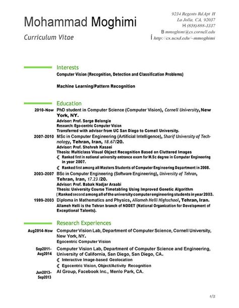 internship resume template  job related tips hloom
