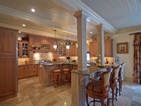 kitchen islands with columns 15 beautiful kitchen island designs with columns housely 5271