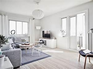 Salon Gris Et Bois : int rieur blanc et bois 40 id es inspirantes emprunter ~ Melissatoandfro.com Idées de Décoration