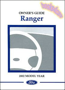 ranger  ford owners manual pickup truck owners book