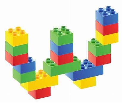 Lego Duplo Clipart Block Transparent Legos Bloques