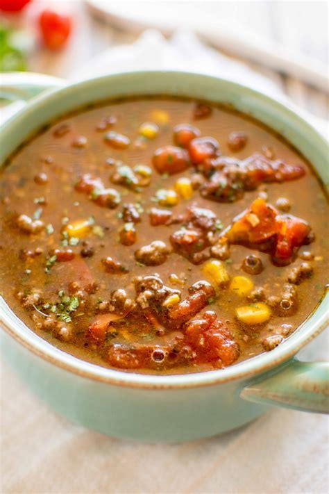 soup in crock pot crockpot taco soup crockpot gourmet
