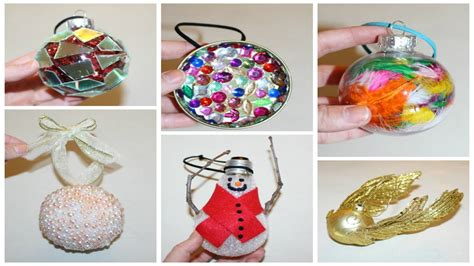 easy do it yourself christmas ornaments six cheap and easy diy ornaments