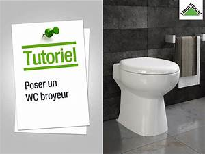Comment poser un WC broyeur ? Leroy Merlin YouTube