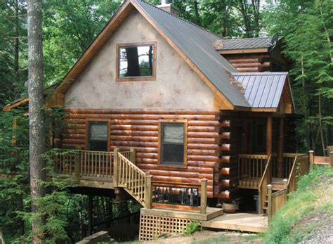 lincoln log cabin real lincoln log cabin on rushing creek vrbo