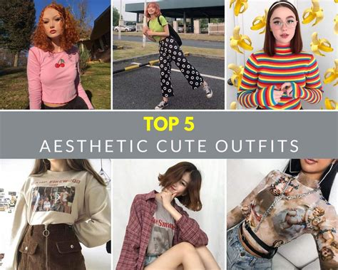 Top 5 Aesthetic Cute Outfits Cosmique Studio