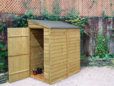shed 6x3 our compact 6x3 overlap wall shed is ideal for locating in