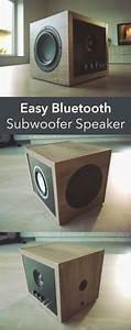 Musikanlage Selber Bauen : easy bluetooth subwoofer speaker 80w diy bluetooth ~ A.2002-acura-tl-radio.info Haus und Dekorationen
