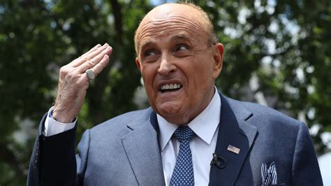 The feds seized giuliani's electronic devices investigators are examining giuliani's dealings in ukraine and whether he illegally lobbied the trump administration on behalf of ukrainian officials. Rudy Giuliani Claims He Has Proof Of Voter Fraud, But Says He Can't Share It Yet