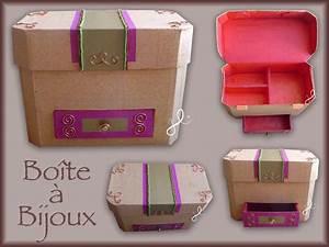 Boite Cartonnage Tuto Gratuit : boite a bijoux en cartonnage ~ Louise-bijoux.com Idées de Décoration