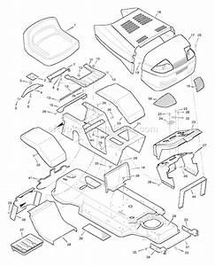 30 Murray Lawn Mower Belt Diagram 46 Inch