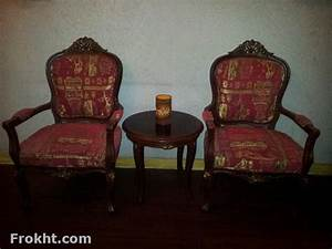 Chair and coffee table made of sheesham wood in reasonable for Home furniture for sale in lahore