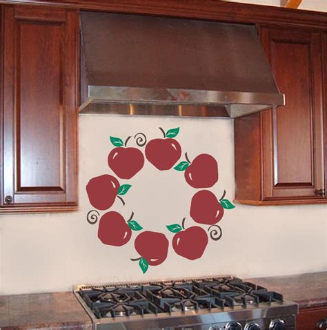 apple kitchen decor ebay apple wreath kitchen wall sticker vinyl decal decor ebay