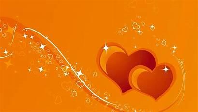 Heart Orange Wallpapers
