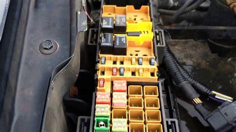 Jeep Grand Cherokee Fuse Box Location Under Hood
