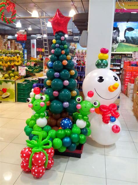 christmas balloon decor party favors ideas