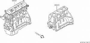 Nissan Altima Engine Short Block  Bare