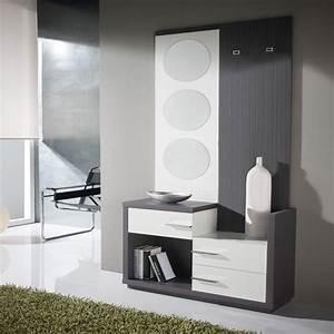 Meuble D Entrée Blanc : meuble d 39 entr e miroirs carmen univers petits meubles ~ Teatrodelosmanantiales.com Idées de Décoration