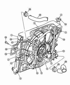 2007 Chrysler Sebring Radiator  Engine Cooling  Related