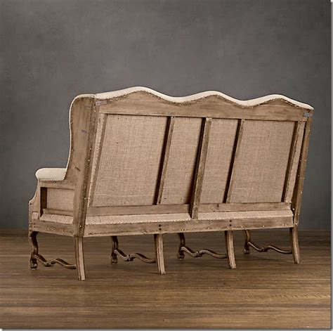Restoration Hardware Settee by Restoration Hardware Winback Settee Nest