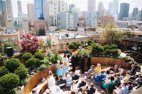lightology rooftop wedding  chicago beautiful chicago