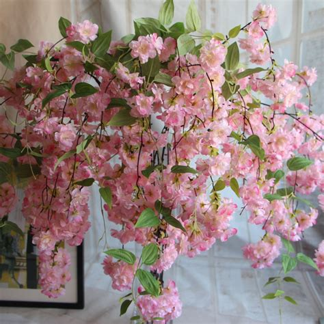 large cm natural vertical silk cherry blossom wedding